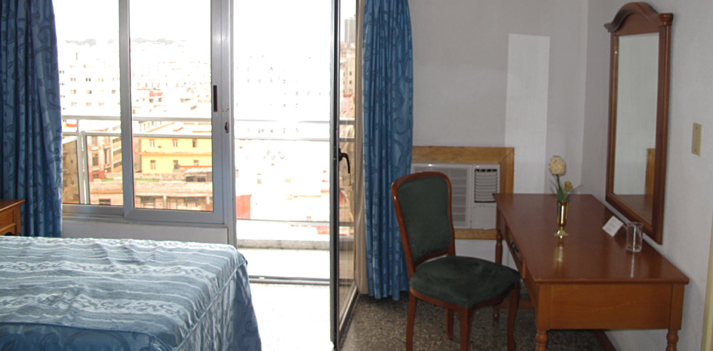 Deauville hotel room