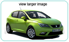 Seat Ibiza for Rent