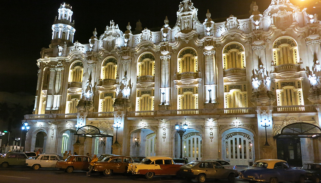 Old Havana Great Theater of Alicia Alonso