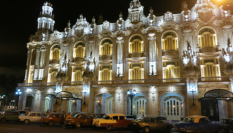 Iconic Great Theater of Havana
