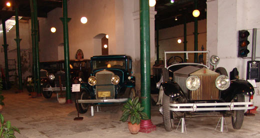 Old Havana museum of old cars