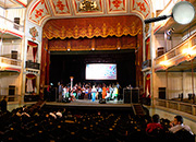 Caridad Theater today