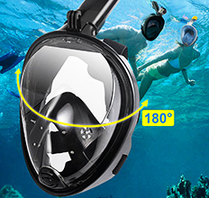 Snorkel Panoramic Mask